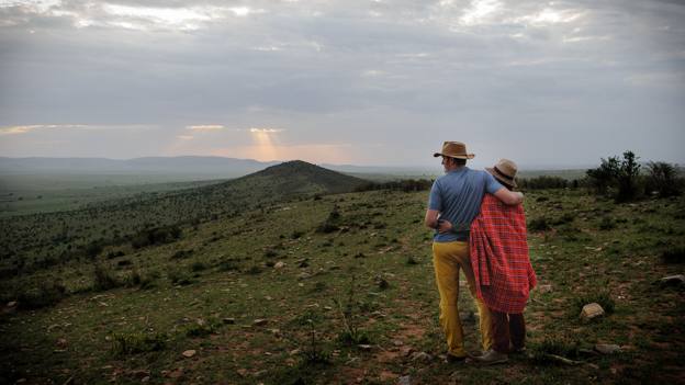 Sundowner in Maasai Mara