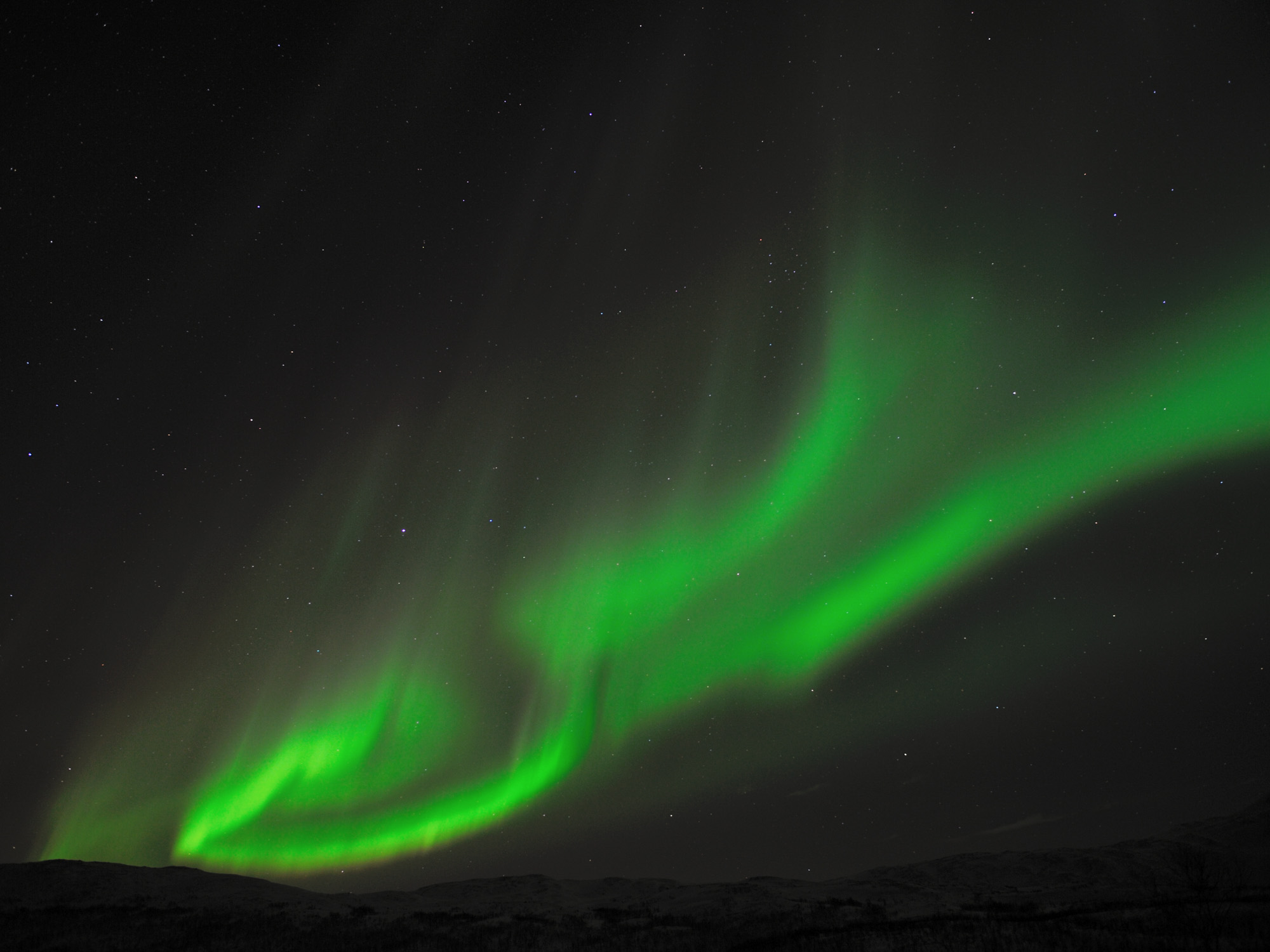 Hunting the Northern Lights in Tromsø