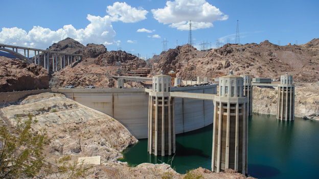 Hoover Dam fron the back