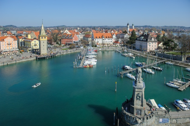 Lindau's harbor
