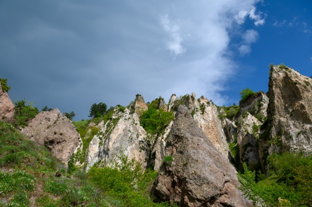 Goris (Armenia) close to the border with Artsakh region (Nagorno Karabakh)