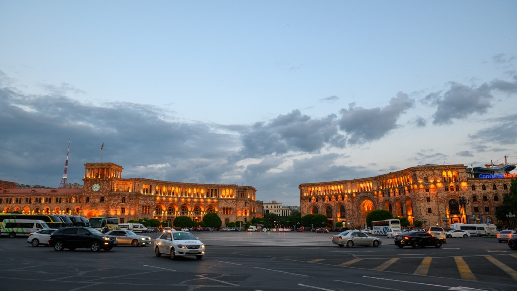 Republic Square in Yerevan