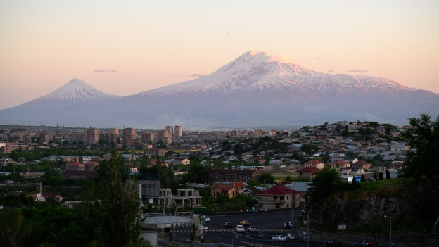 Sunset over Ararat