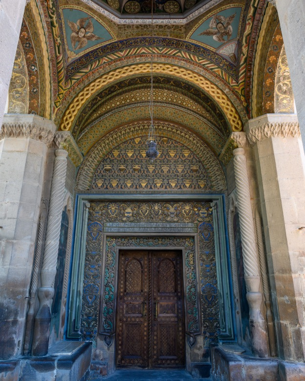 Entrance to Etchmiadzin Cathedral