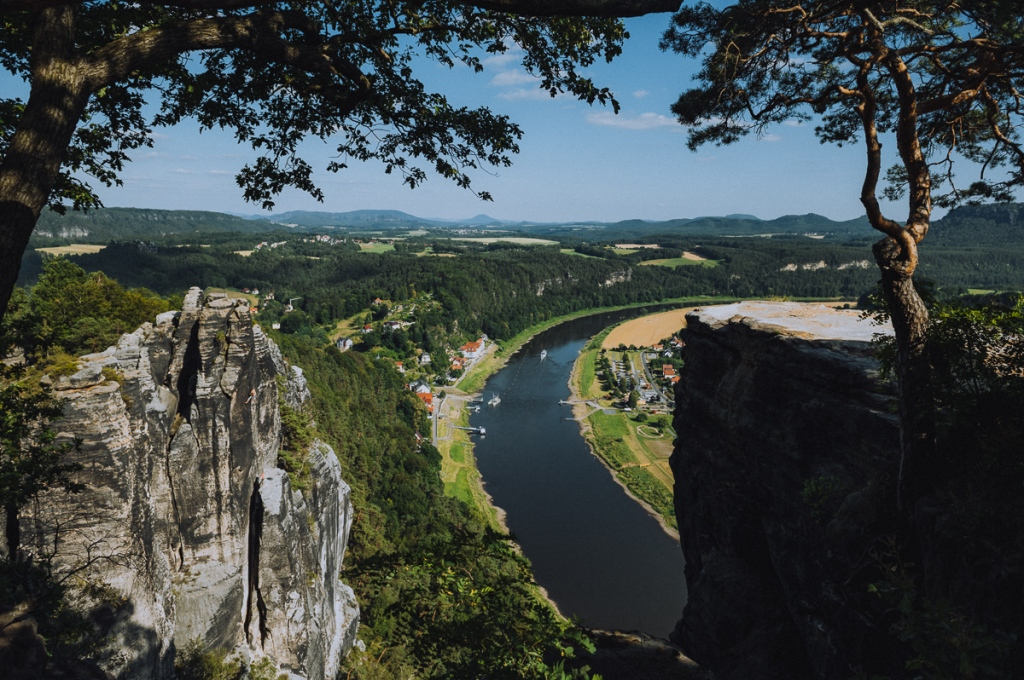 Bohemian & Saxon Switzerland - Border between Czechia and Germany