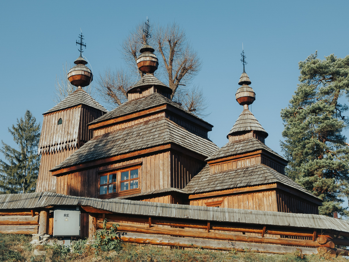 Bodruzal wooden church