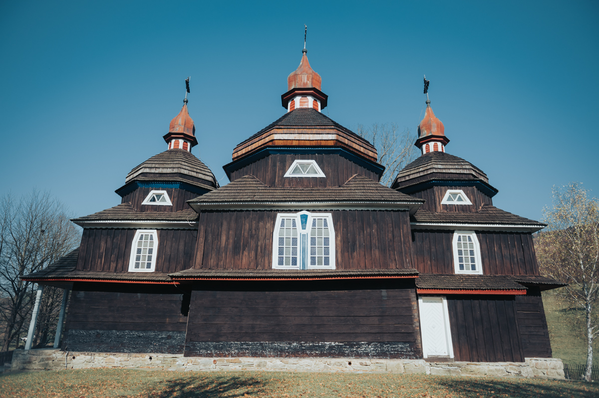 The wooden Greek Catholic church of the Protection of the Mother of God