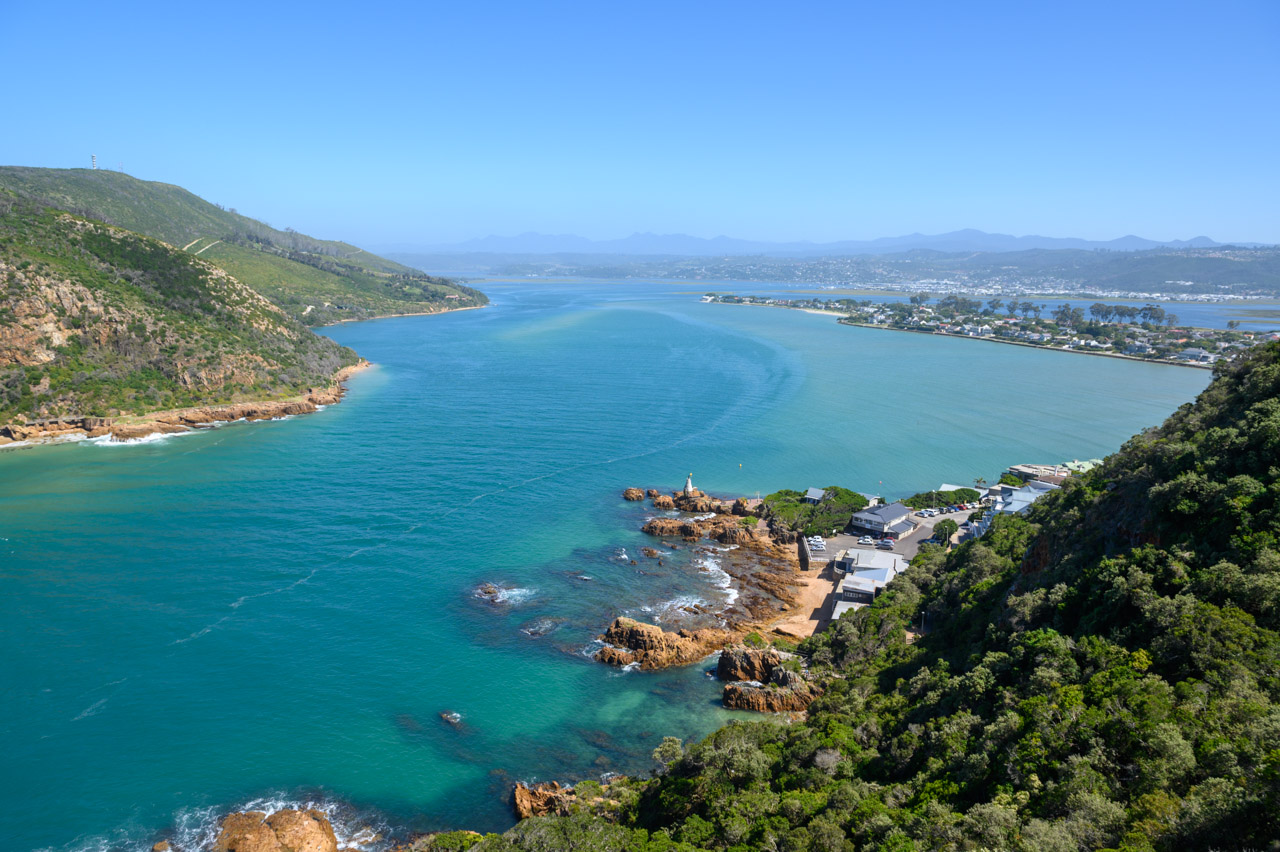 Knysna Lagoon from Heads